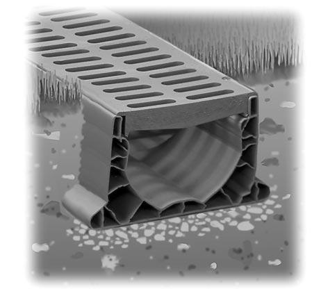 Oklahoma city french drain sprinkler contractor edmond for Drain de garage installation