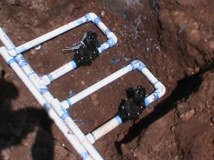 Sprinkler Valve installation in Edmond