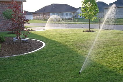 Sprinkler Installation in Norman.