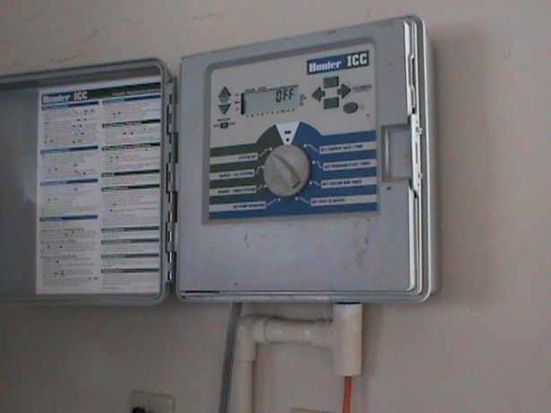 Sprinkler Controller Installed In Norman