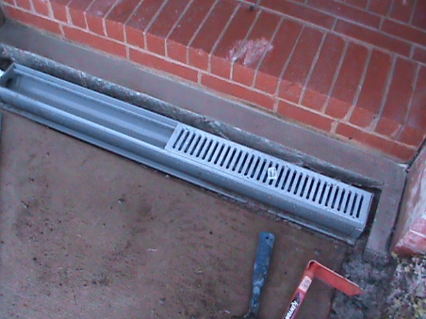 Channel Drain Installation in Oklahoma City
