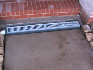 Channel Drain installed in Norman