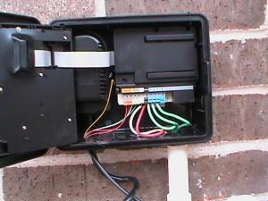 Replacing Broken Wiring inside Sprinkler Controller
