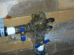 Leaking Back-Flow-Valve