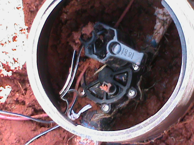 Replacing Broken Sprinkler Valve in Norman.