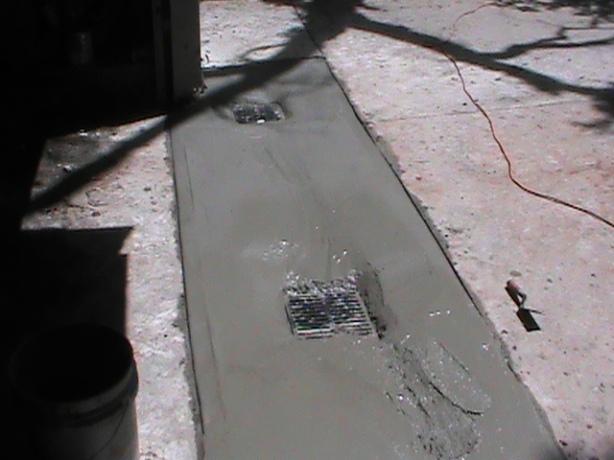 Drain Grates Installed in Edmond Driveway
