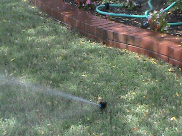 Rotor Sprinkler head in Oklahoma City