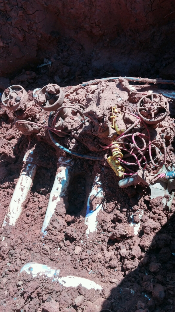broken valves