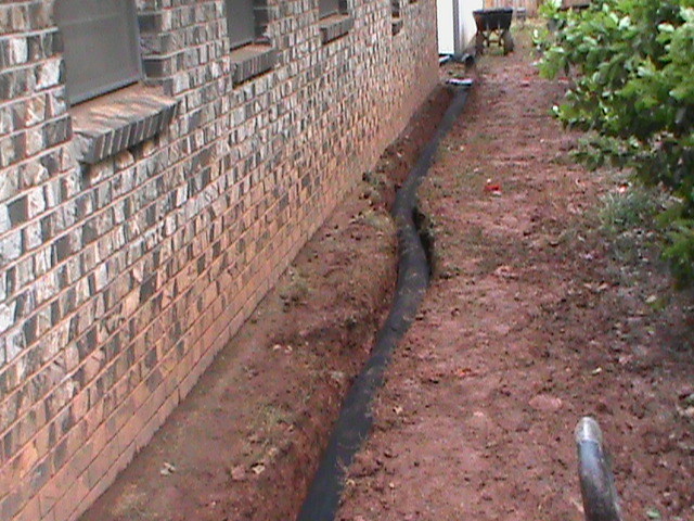 new french drain