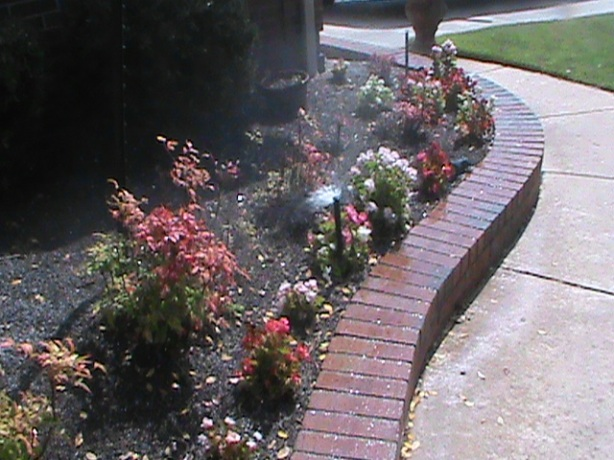 Sprinkler adjustment