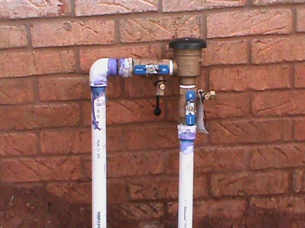 New backflow valve