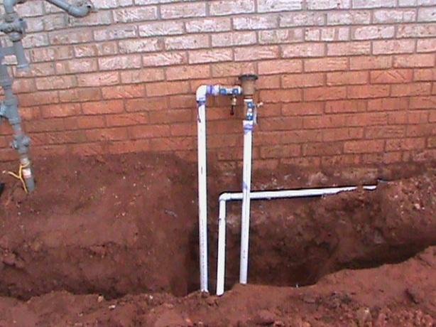 back flow install
