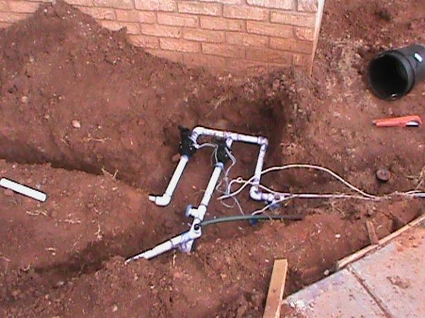 valve install