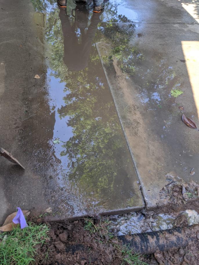 cnannel drain location