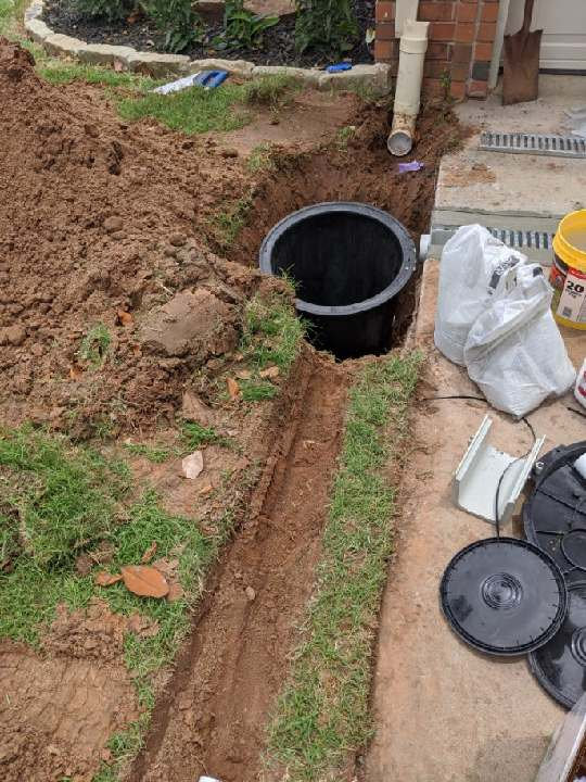 Sump Pump installation